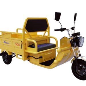 Фото 2 - Трицикл Грузовой Antrike 500 с АКБ 48в 52Ач.