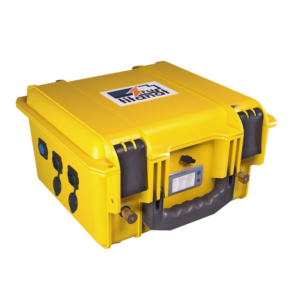 Фото 1 - Аккумулятор лодочный 12V 104Ah LiFePO4 Защищён. (USB).