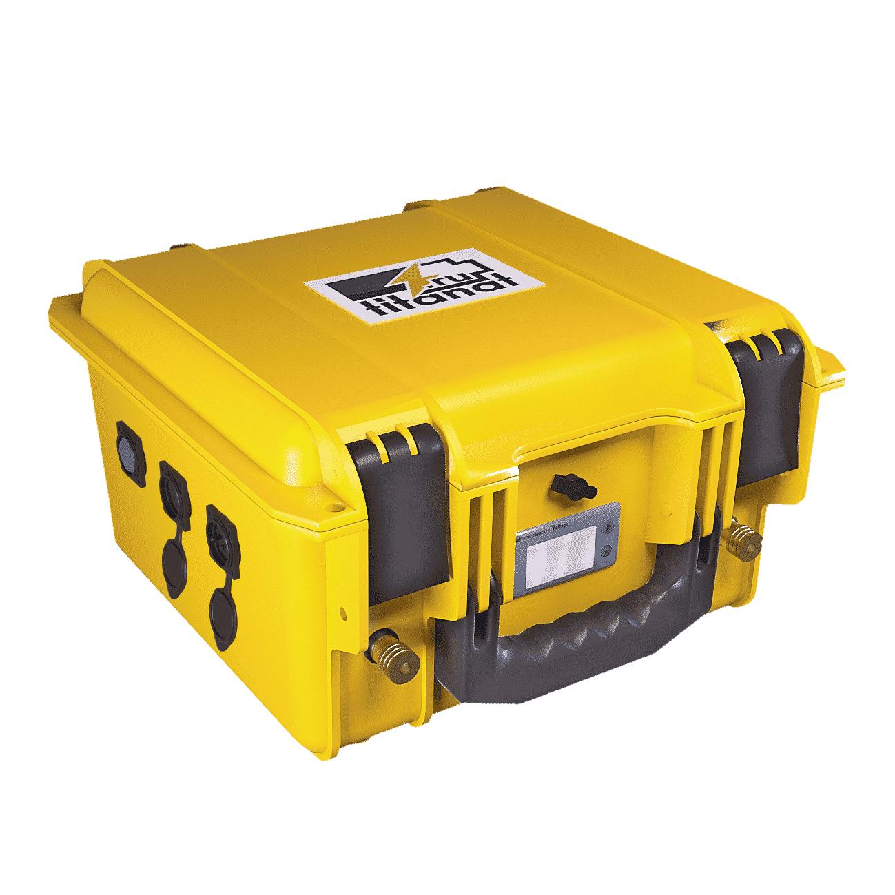 Фото 1 - Аккумулятор лодочный 12V 110Ah LiFePO4 Защищён. (USB).
