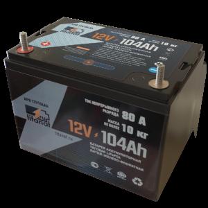 Фото 8 - Аккумулятор 12V 104Ah  LiFePO4 Защищённый АБС пластик.