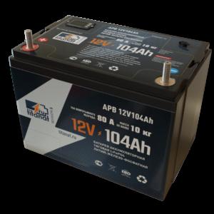 Фото 3 - Аккумулятор 12V 104Ah  LiFePO4 Защищённый АБС пластик.